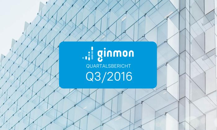 Quartalsbericht Q3/2016: So hat das Ginmon Portfolio performt