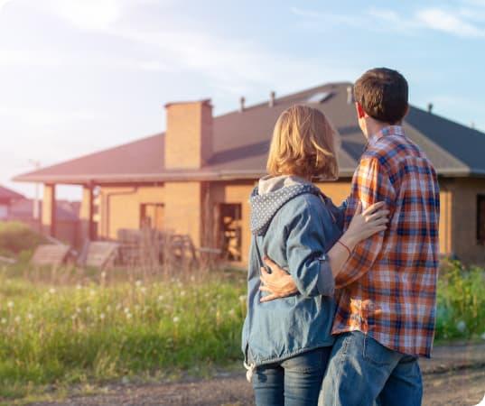 Paar erfüllt sich mit ETF-Sparplan von Ginmon den Traum vom eigenen Haus